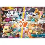 Glitter Puzzle - 44 Cats