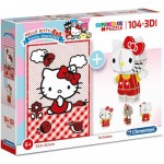 Hello Kitty - Puzzle and 3D Model