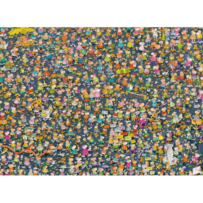 Impossible Puzzle - Mordillo 1000 pieces