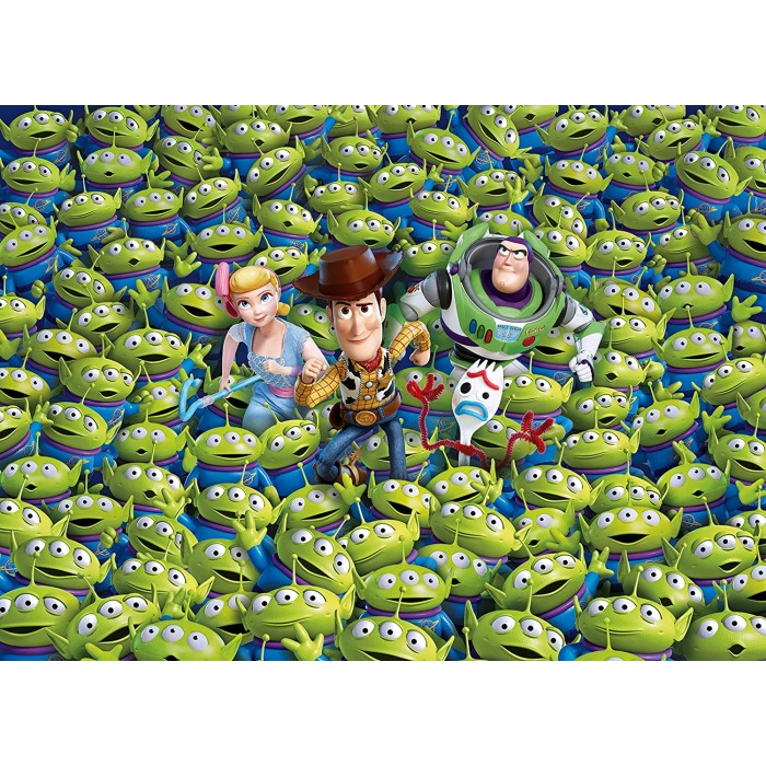 Impossible Puzzle - Toy Story 4 1000 pieces