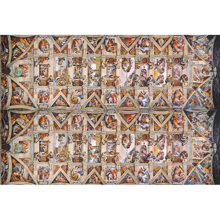Michelangelo - Sistine Chapel Puzzle 1000 pieces