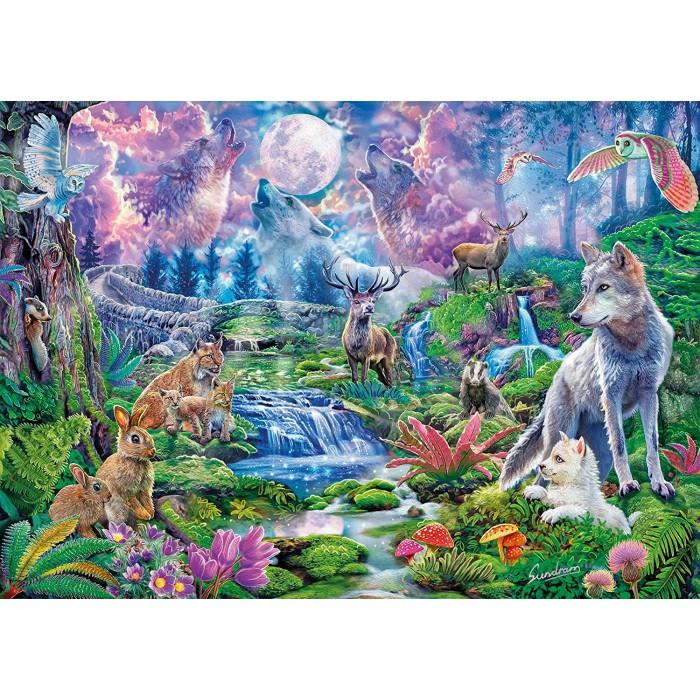 Moonlit Wild Puzzle 3000 pieces