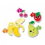 My First Puzzle - Fruits (4 Puzzles)