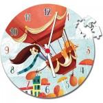 Puzzle Clock - Air Balloon