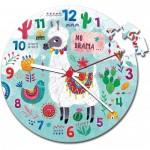 Puzzle Clock - Llama