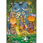 Puzzle   Supercolor Mordillo
