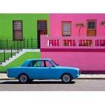 Puzzle   The Blue Car
