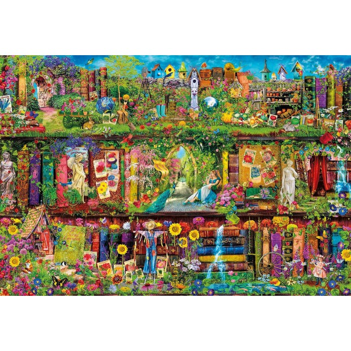 The Garden Shelf Puzzle 2000 pieces