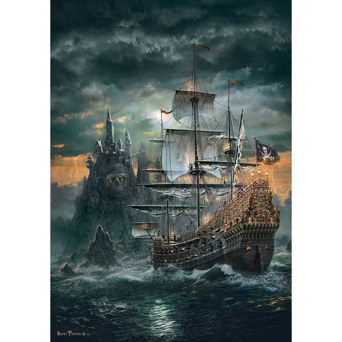 The Pirate Ship Puzzle 1500pieces