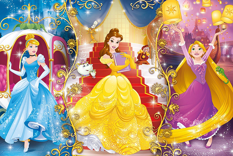 Puzzle disney princess clementoni 27983 104 pieces jigsaw - Image princesse disney ...