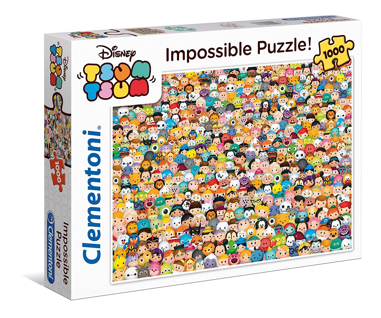Cymk Puzzle Disney Tsum Tsum Impossible Puzzle Clementoni 39363