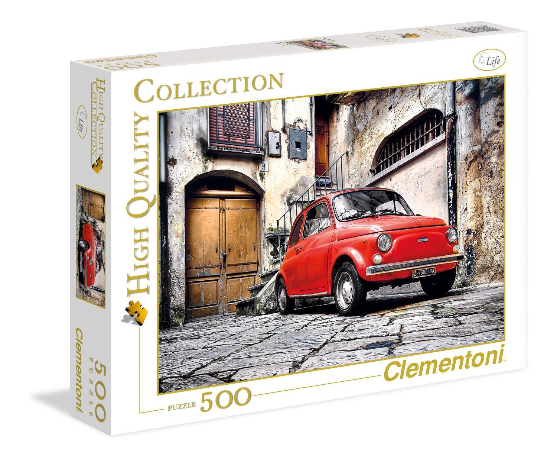 puzzle fiat 500 clementoni 30575 500 pieces jigsaw puzzles. Black Bedroom Furniture Sets. Home Design Ideas