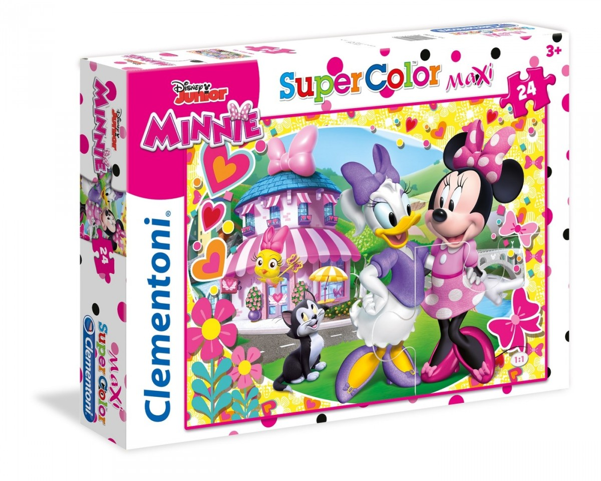 Jigsaw Puzzle Maker >> Floor Puzzle - Minnie Clementoni-24480 24 pieces Jigsaw ...