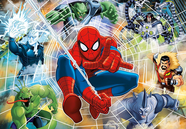 Puzzles & Geduldspiele Clementoni 27992 Puzzle 104 Fluorescent Spiderman