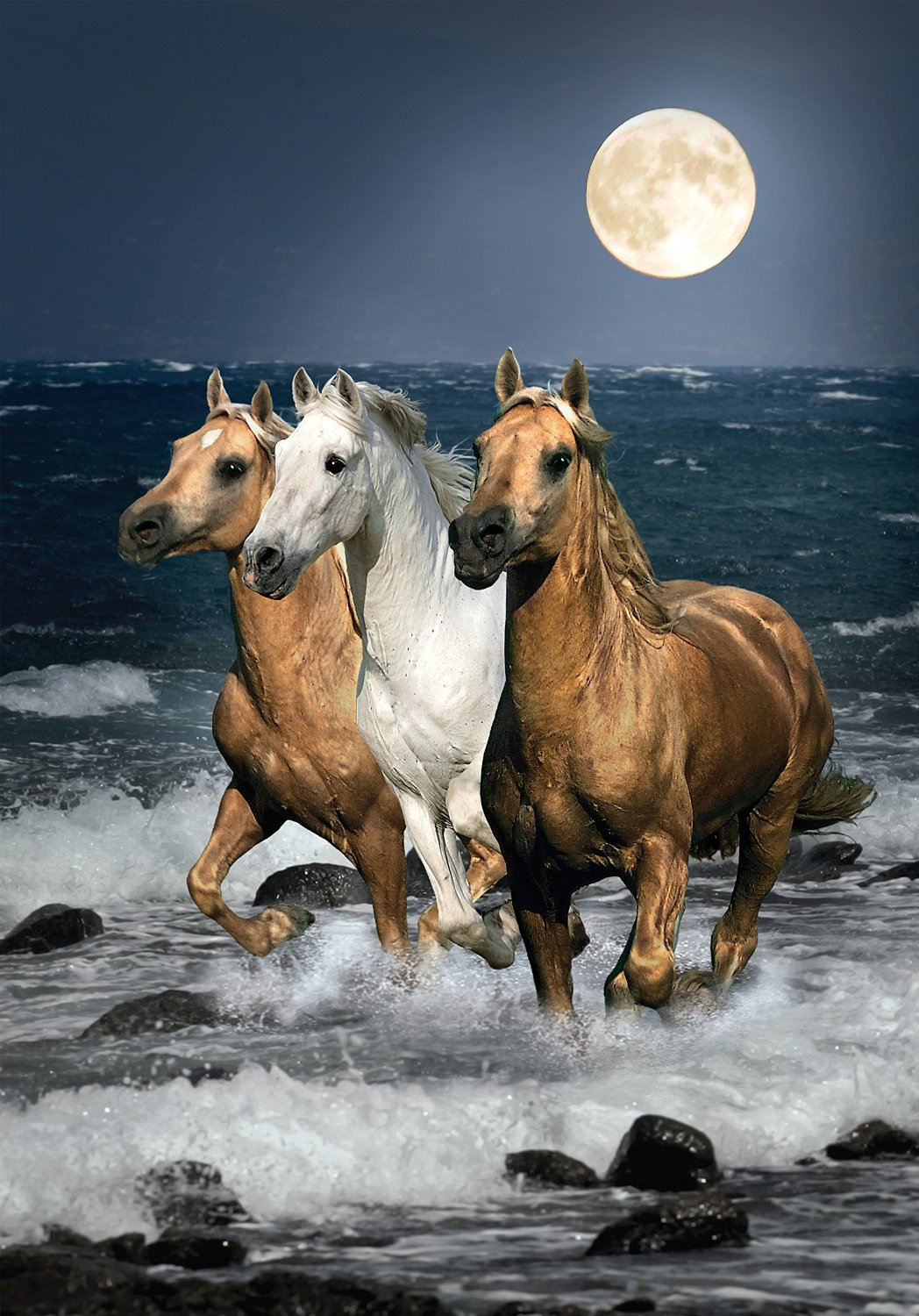 puzzle galopping horses clementoni31676 1500 pieces