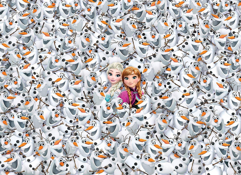 impossible jigsaw puzzle frozen clementoni39360 1000