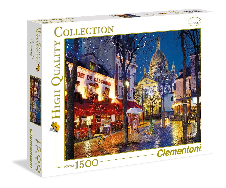 puzzle paris montmartre clementoni 31999 1500 pieces. Black Bedroom Furniture Sets. Home Design Ideas