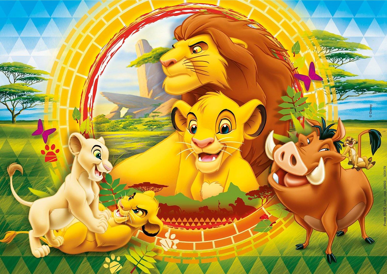 puzzle LE ROI LION THE LION KING