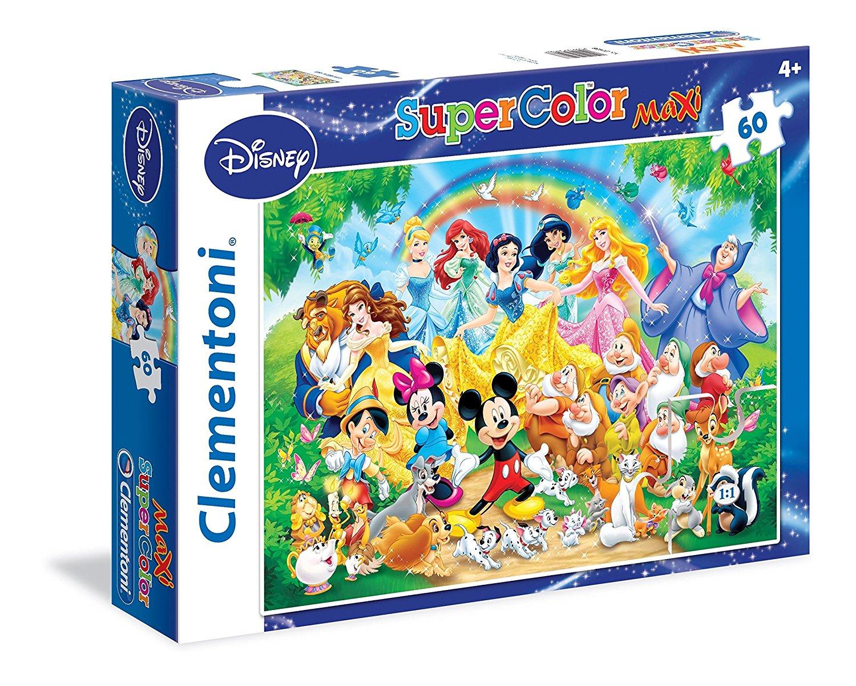 Puzzle XXL Pieces  Disney Clementoni26408 60 pieces