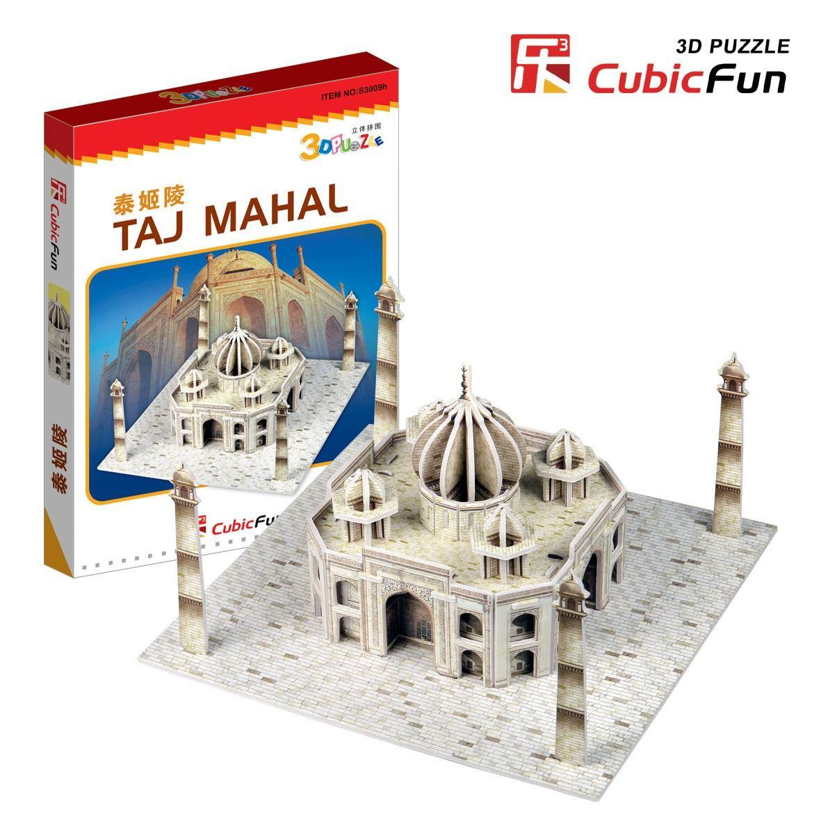 3D Mini Series Puzzle- India : Taj Mahal (Difficulty 2/8)