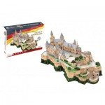 3D Puzzle - Castle of Hohenzollern - Difficulty: 7/8