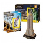 3D Puzzle - Empire State Building (Difficulty: 6/8)