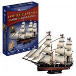3D Puzzle - Esmeralda Vessel - Difficulty: 5/8