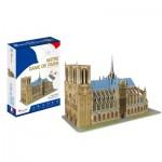3D Puzzle - Notre Dame de Paris - Difficulty: 4/8