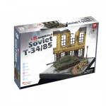 3D Puzzle - Soviet T34/85 - Difficulty: 7/8