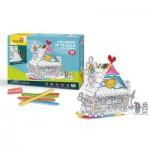 3D Puzzle - Toy House