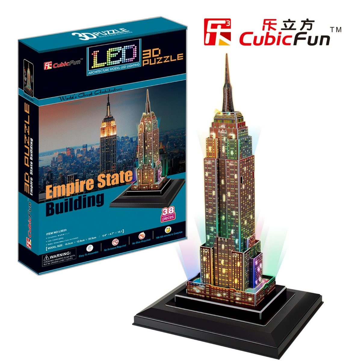Empire State Building D Led