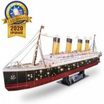 3D Puzzle with LED -  Titanic