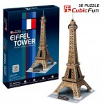 Cubic-Fun-C044H 3D Puzzle - Paris: Eiffel Tower