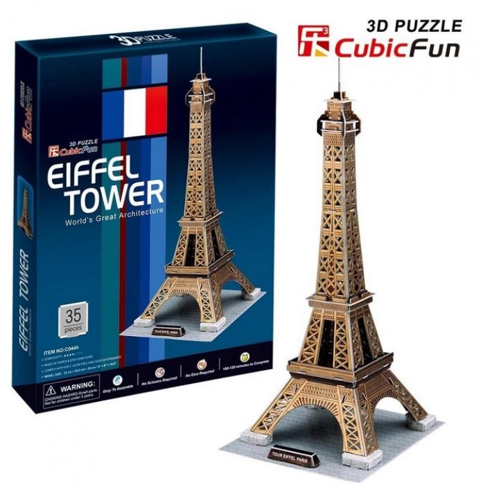 3D Puzzle - Paris: Eiffel Tower
