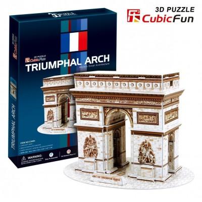 Cubic-Fun-C045H 3D Puzzle - Arch of Triumph