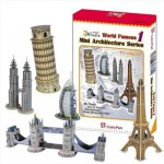 Cubic-Fun-C056H 3D Puzzle - Mini Architectures Serie: World Landmarks (Difficulty: 4/8)