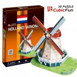 Cubic-Fun-C089H 3D Puzzle - Dutch Mill