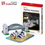Cubic-Fun-C090H 3D Puzzle - Impressions of Sydney (Bridge and Opera)