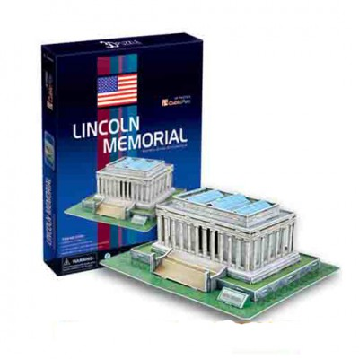 Cubic-Fun-C104H 3D Puzzle -Lincoln Memorial