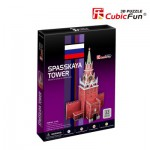 Cubic-Fun-C118H 3D Puzzle - Spasskaya Tower (Russia) - Difficulty : 4/8
