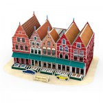 Cubic-Fun-C182H 3D Puzzle - Grand Place - Difficulty : 4/8