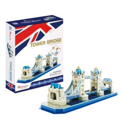 Cubic-Fun-C238h 3D Puzzle - Tower Bridge - Difficulty: 4/8