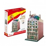 Cubic-Fun-C240h 3D Puzzle - Casa Batlló - Difficulty: 4/8