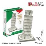 Cubic-Fun-C241h 3D Puzzle - Pisa, Italia - Difficulty: 4/6