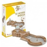 Cubic-Fun-C244h 3D Puzzle - Saint Peter's Basilica in Rome