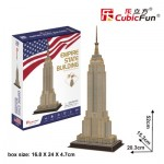 Cubic-Fun-C246h 3D Puzzle - Empire State Building - Difficulty: 4/8