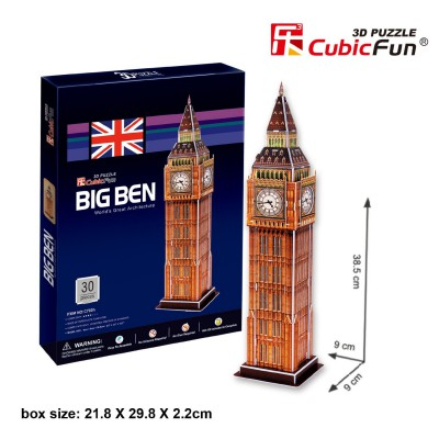Cubic-Fun-C703H 3D Puzzle - Big Ben