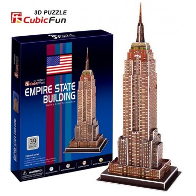 Cubic-Fun-C704H 3D Puzzle - New York : Empire State Building