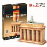 Cubic-Fun-C712H 3D Puzzle - Germany, Berlin: Brandenburg Port