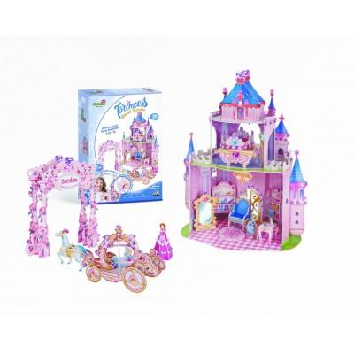 Cubic-Fun-E1623H 3D Puzzle - Princess Secret Garden